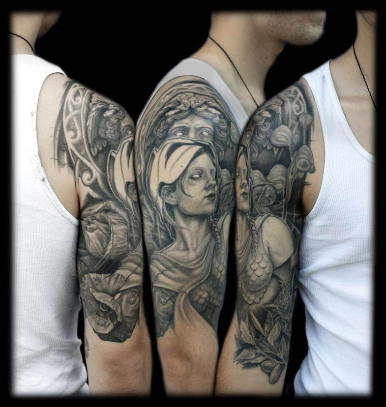 Mythological Tattoo Designs.25
