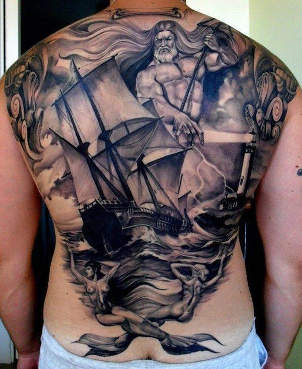 Mythological Tattoo Designs.31