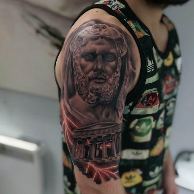 Mythological Tattoo Designs.35