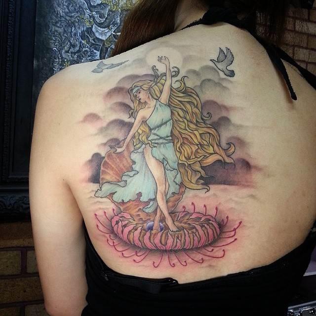 Mythological Tattoo Designs.37