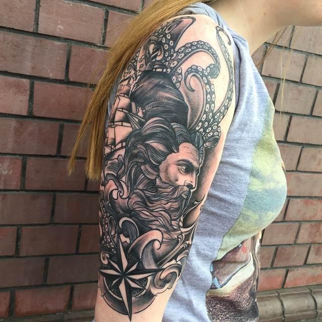 Mythological Tattoo Designs.39