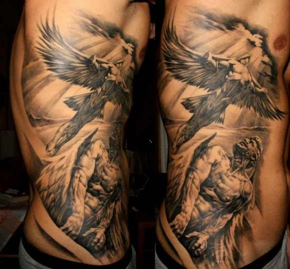 Mythological Tattoo Designs.7