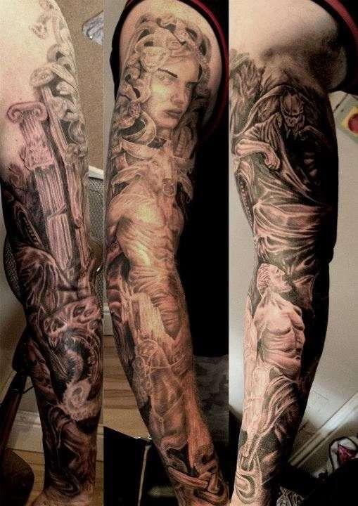 Mythological Tattoo Designs.1