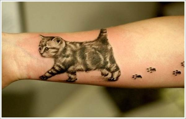 Cat Tattoo Design.17