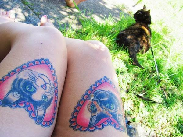 Cat Tattoo Design.28