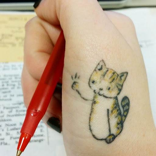 Cat Tattoo Design.29