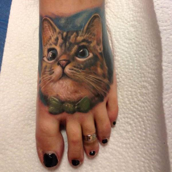 Cat Tattoo Design.30