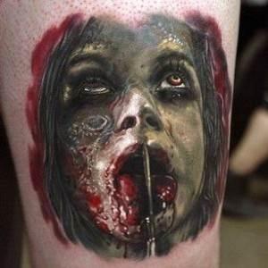 Frankenstein's Monster Tattoo Designs