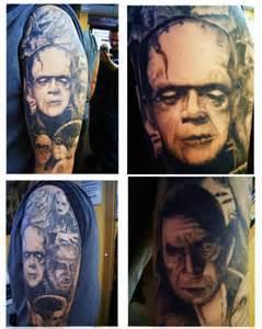 Classic Horror Tribute Tattoo