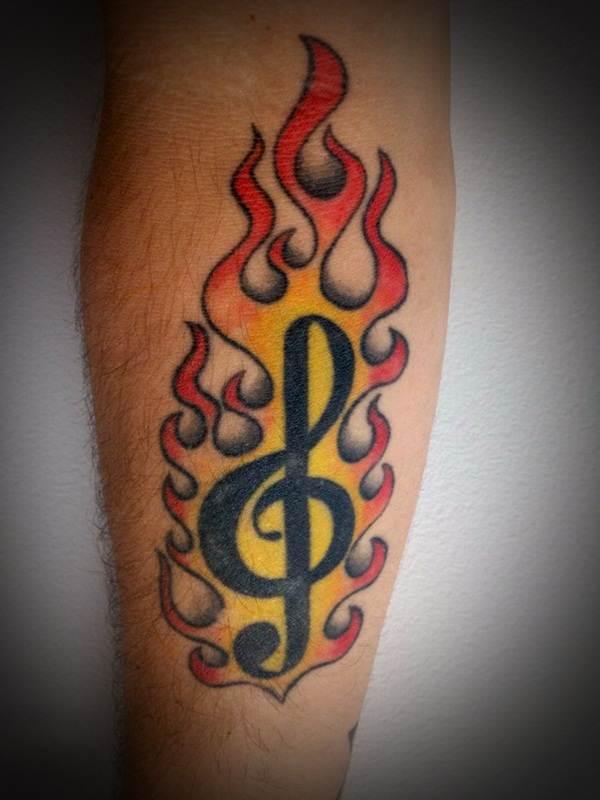 Music Tattoo Designs9