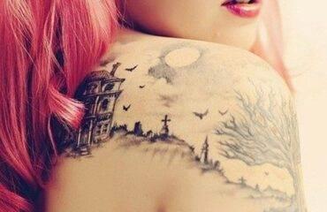 Best Shoulder Tattoo Designs for Girls