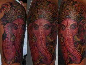 Ganesh Tattoo 12