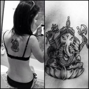 Ganesh Tattoo 13