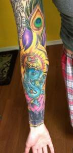 Ganesh Tattoo 15
