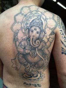 Ganesh Tattoo 25