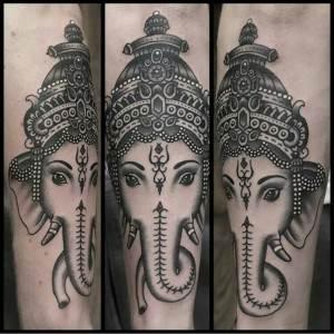Ganesh Tattoo 1
