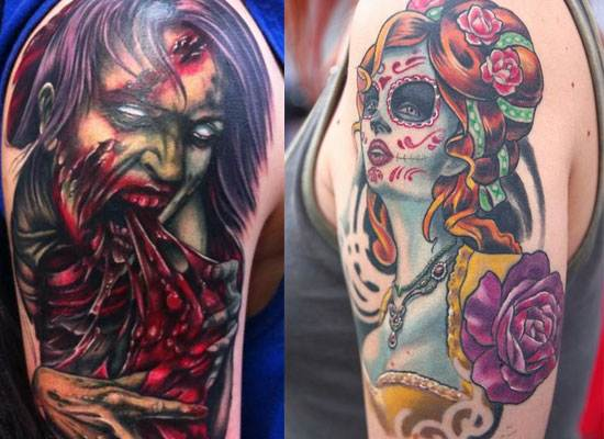 Halloween Tattoo Designs-17