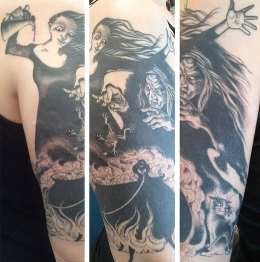 Halloween Tattoo Designs-18