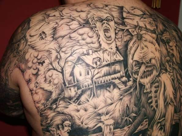 Halloween Tattoo Designs-19
