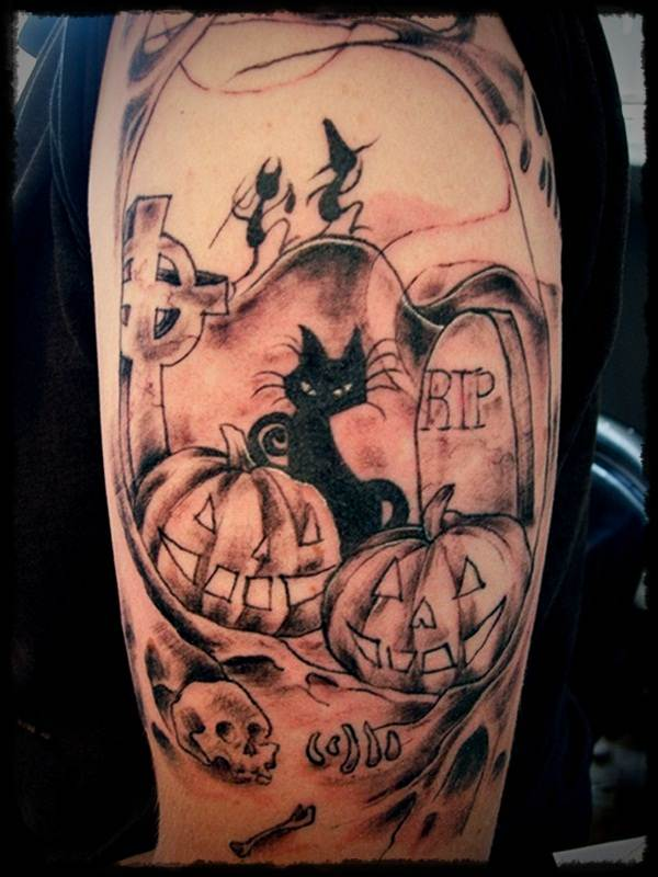 Halloween Tattoo Designs-2