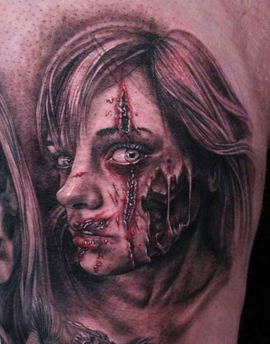 Halloween Tattoo Designs-22
