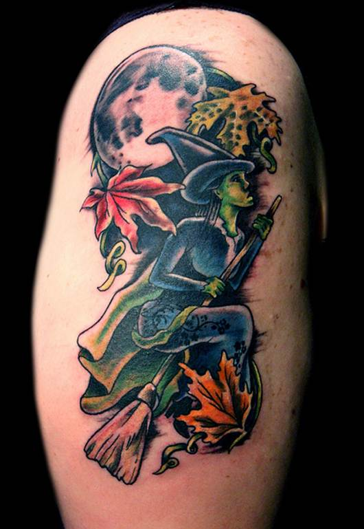 Halloween Tattoo Designs-5