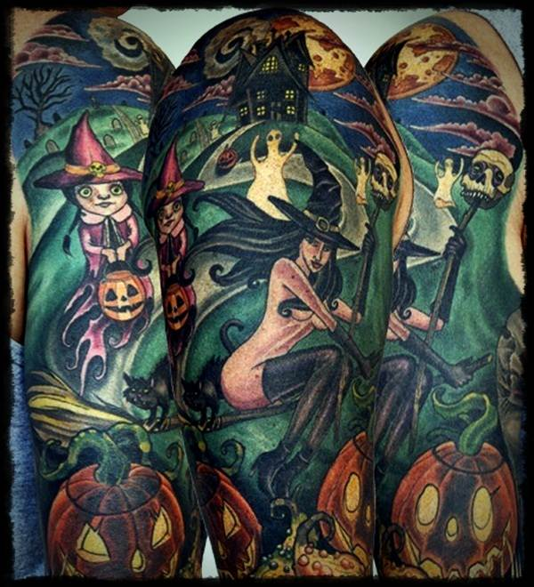 Halloween Tattoo Designs-6