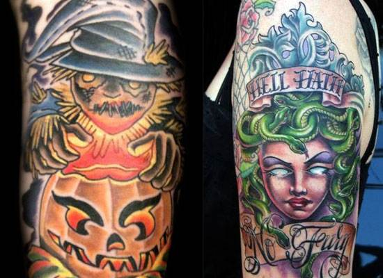 Halloween Tattoo Designs-30