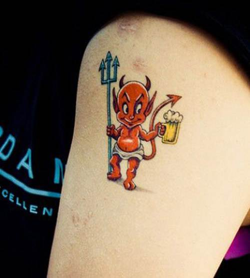 Devil Tattoos Designs.47
