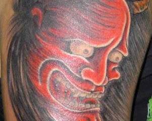 Unusual and Creative Devil Tattoo Designs