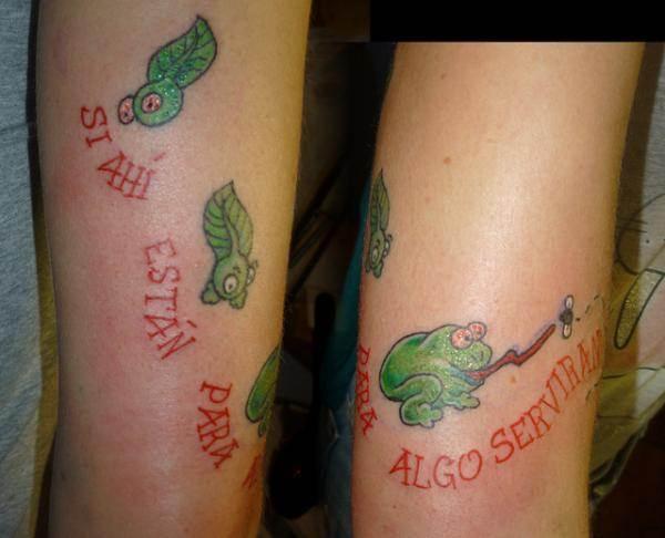 Funny tattoos.44