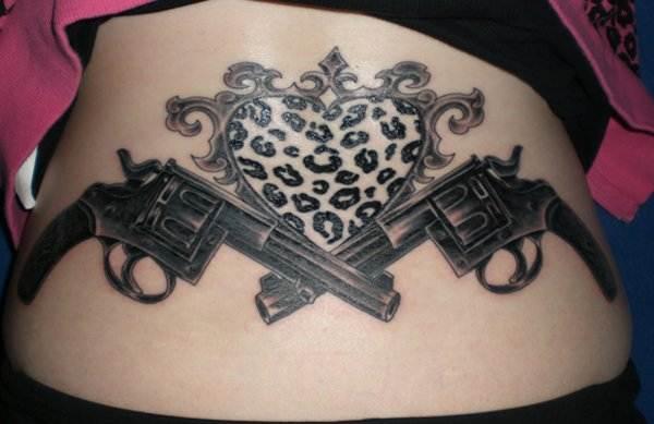 Gun Tattoo Designs-16