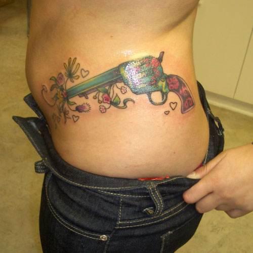 Gun Tattoo Designs-25