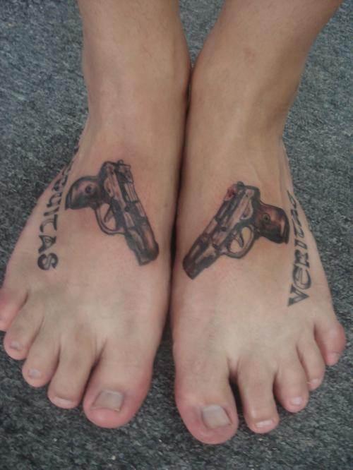 Gun Tattoo Designs-29