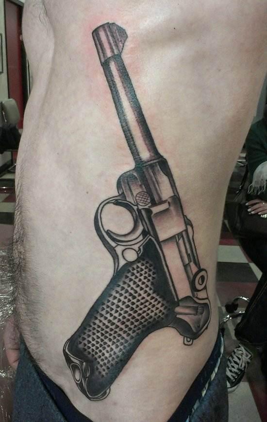 Gun Tattoo Designs-31