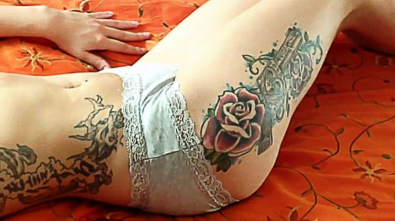 Gun Tattoo Designs-40