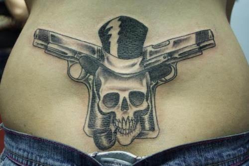 Gun Tattoo Designs-5