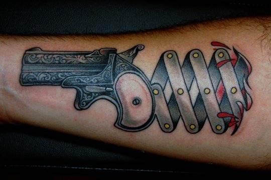 Gun Tattoo Designs-6