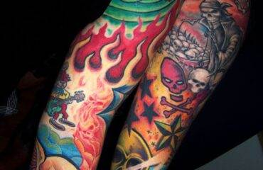 Amazing Color Tattoo Designs for Boys  and Girls
