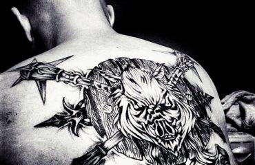 Amazing Warrior Tattoos for Men and Women