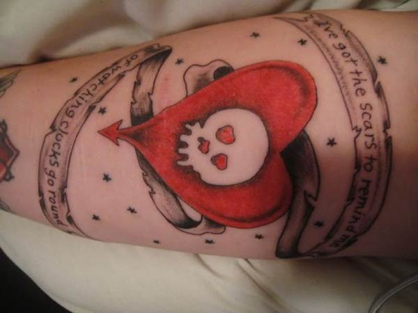 Heart Tattoo Designs (28)
