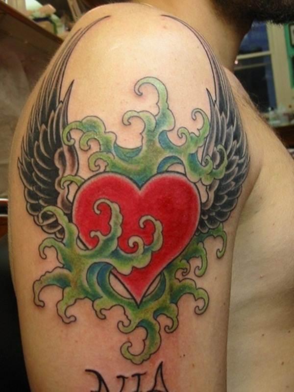 Heart Tattoo Designs (39)