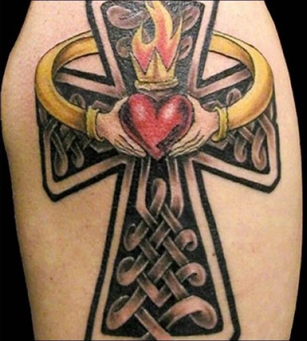 Cross Tattoo Designs (30)