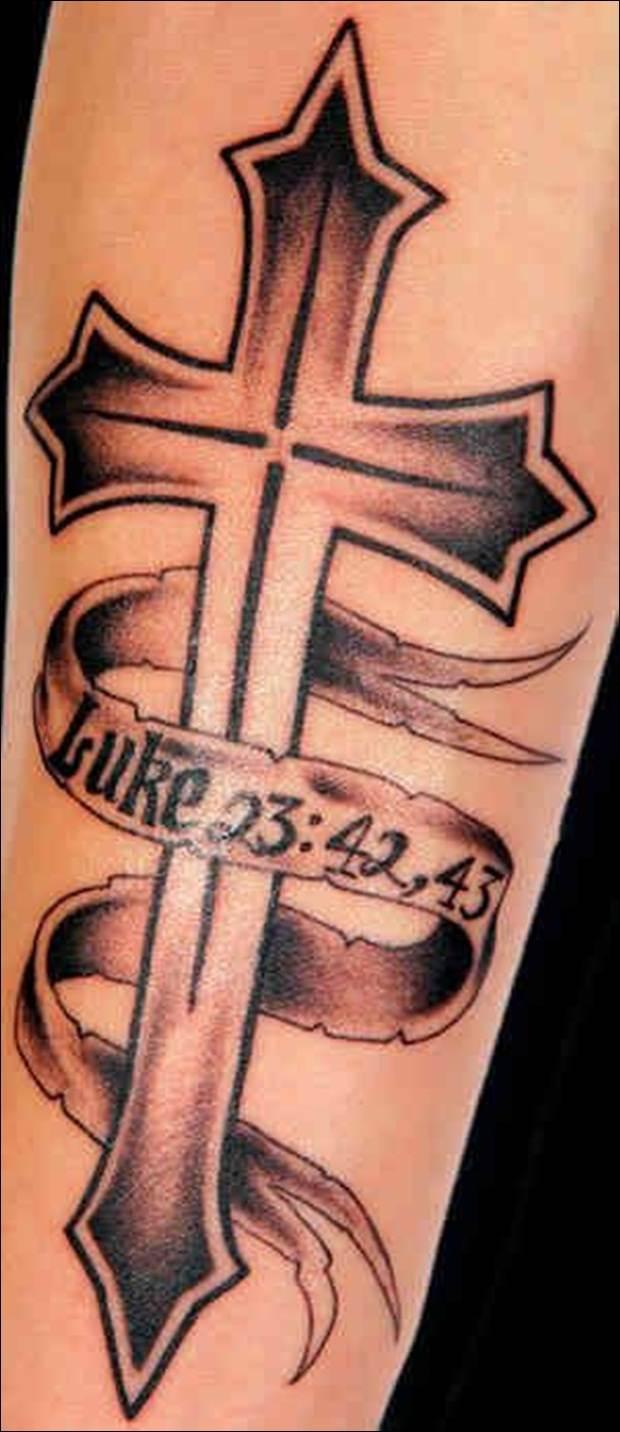 Cross Tattoo Designs (8)