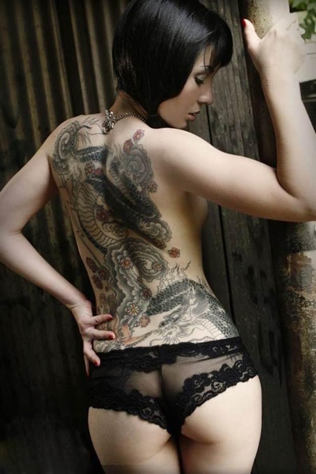 Dragon tattoos (26)
