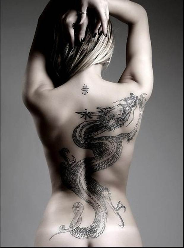 Dragon tattoos (27)