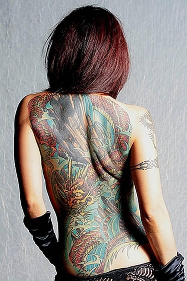 Dragon tattoos (18)