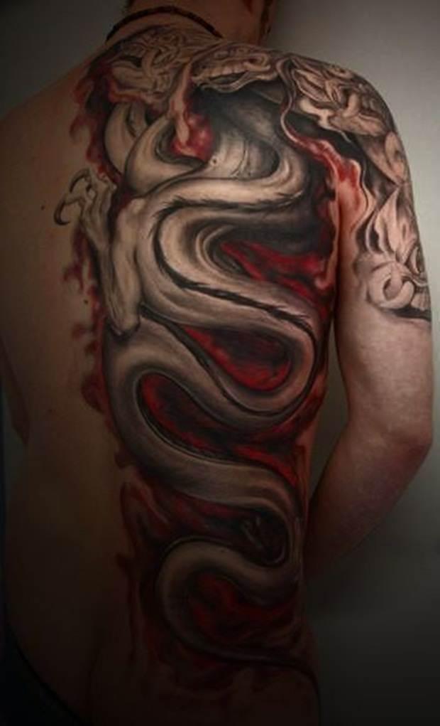 Dragon tattoos (17)
