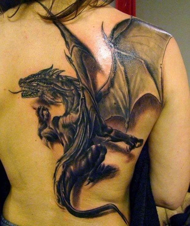Dragon tattoos (16)