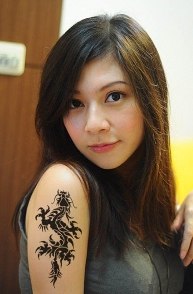 Dragon tattoos (2)